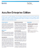 AccuRev Enterprise Edition Data Sheet