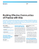 Building Effective Communities of Practice with Vibe