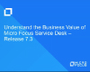 Understanding the Business Value of Micro Focus Service Desk
